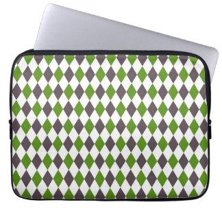Decorative Diamond Mosaic Pattern #3 Laptop Sleeve
