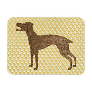Decorative dog magnet