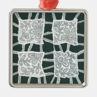 decorative, drawing, floral, ink, lace, organic metal ornament