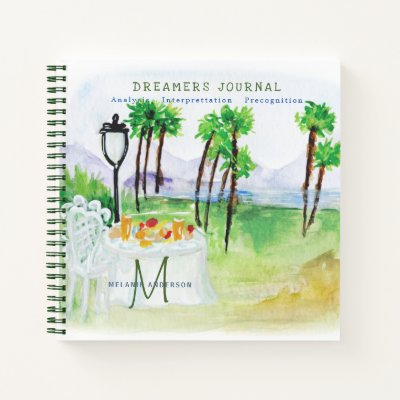 Decorative Dreamers Journal Dream Analysis Notes