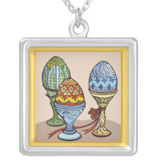 Decorative Eggs  Necklace