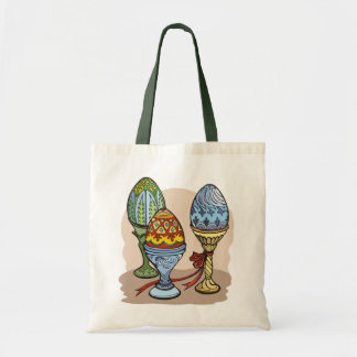 Decorative Eggs Tote Bag