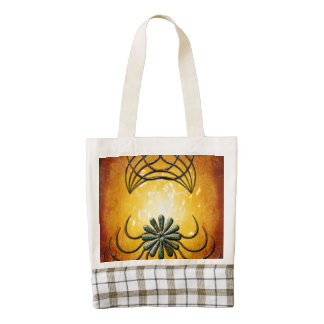 Decorative elegant design zazzle HEART tote bag