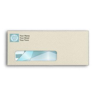Decorative elegant diamond envelope