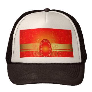 Decorative, elegante design trucker hat