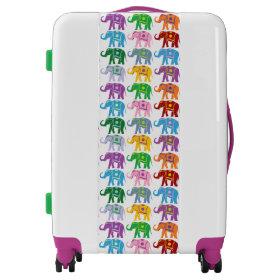 Decorative Elephants Luggage