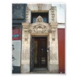 Decorative Facade on Old Building in Buffalo NY Photo