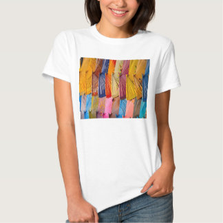 Decorative Fans Adult Fitted Tee Shirt