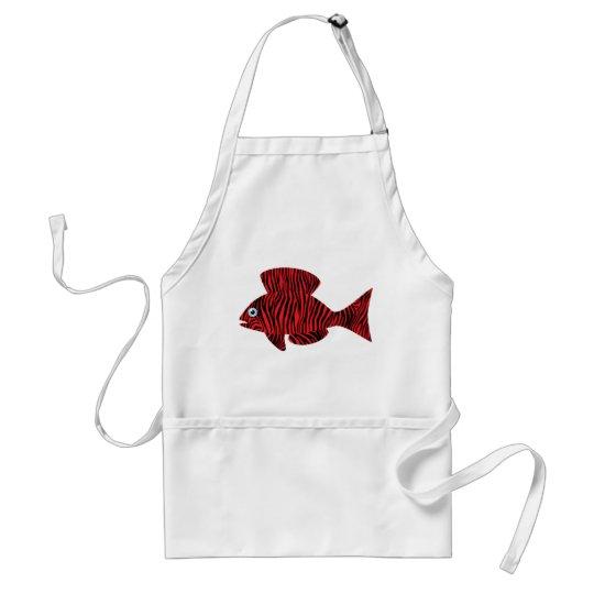 Decorative Fish Adult Apron