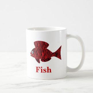 Decorative Fish Coffee Mug