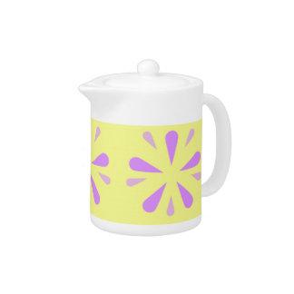 Decorative Floral Art Tea Pot