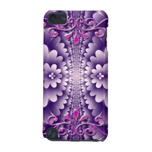 Decorative floral fantasy iPod touch speck case iPod Touch (5th Generation) Cover