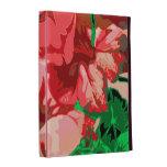 Decorative floral iPad folio cover