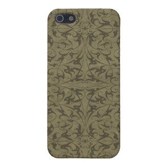 Decorative Floral Motif iPhone SE/5/5s Cover