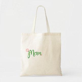 Decorative Floral Mum Tote Bag