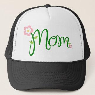 Decorative Floral Mum Trucker Hat