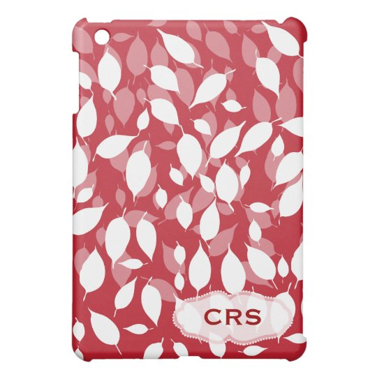 Decorative floral pattern cover for the iPad mini