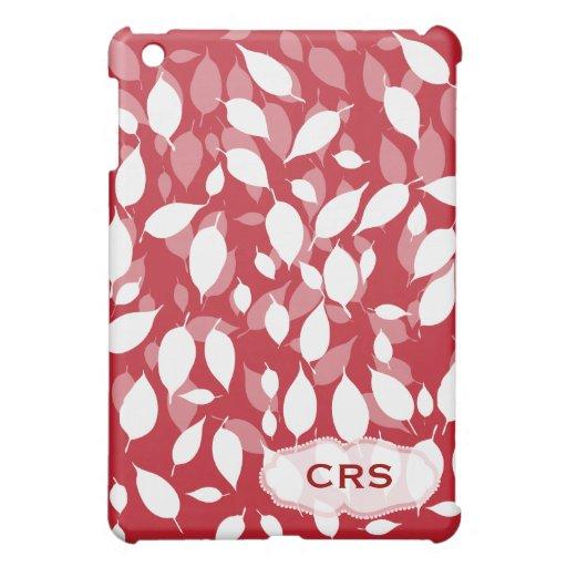 Decorative floral pattern iPad mini cases