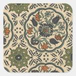 Decorative Floral Persian Tile Design Stickers