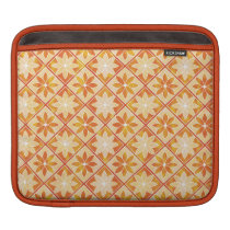 Decorative Floral Tiles iPad/ iPad 2 Sleeve