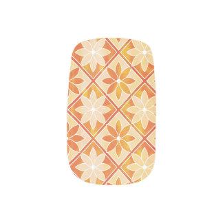 Decorative Floral Tiles Minx Nails - Autumn Minx ® Nail Art