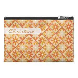 Decorative Floral Tiles Travel Bag - Autumn Travel Accessories Bags