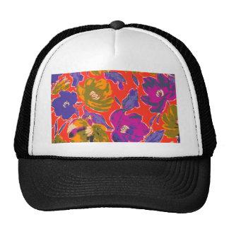 Decorative Florals Trucker Hat