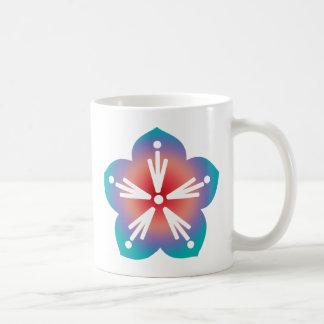 Decorative Flower Coffee Mug