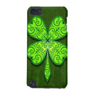 Decorative Four Leaf Clover iPod Touch (5th Generation) Cases