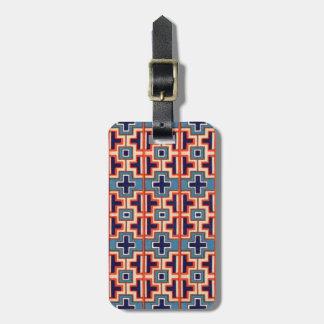 Decorative French Moyen Age Medieval Design Bag Tag