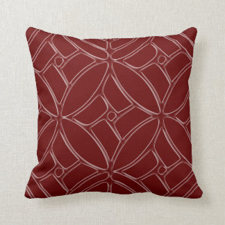 Decorative Frosted Throw Pillow