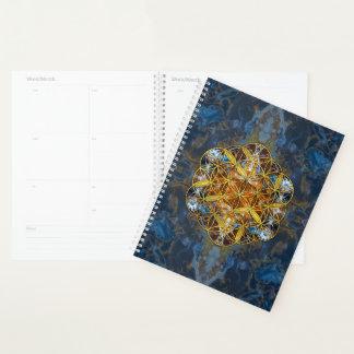 Decorative Gemstone Sacred Geometry Flower of life Planner