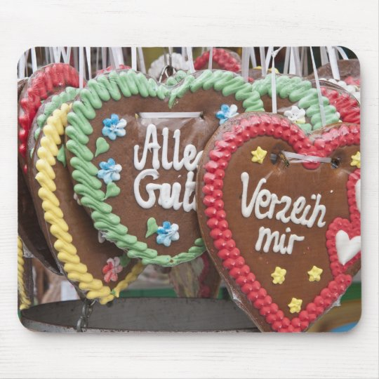 Decorative gingerbread cookies mouse pad