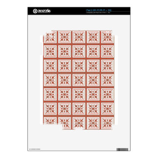 Decorative Graphic Art GOLDEN dots REDS GIFTS iPad 2 Skin