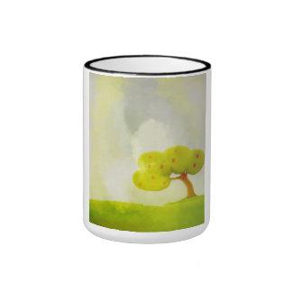 decorative green tree Mug
