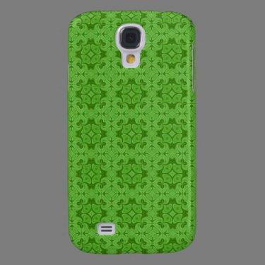 Decorative Green wood pern Samsung Galaxy S4 Case