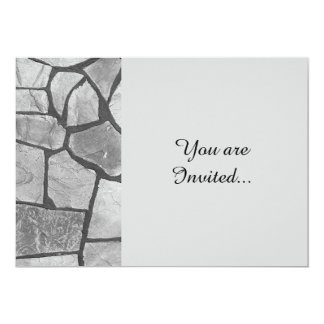 Decorative Grey Stone Paving Look Card