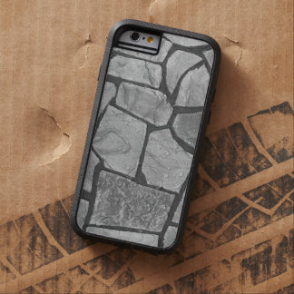 Decorative Grey Stone Paving Look Tough Xtreme iPhone 6 Case