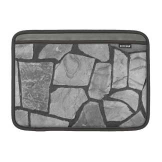 Decorative Grey Stone Paving Look MacBook Sleeve