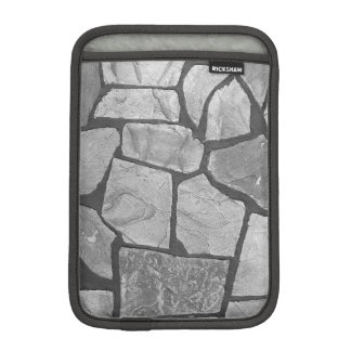Decorative Grey Stone Paving Look Sleeve For iPad Mini