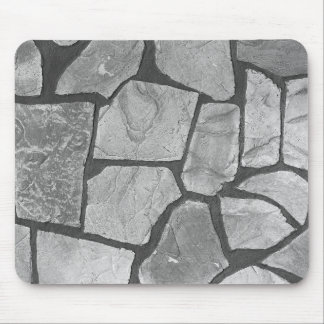 Decorative Grey Stone Paving Look Mouse Pad