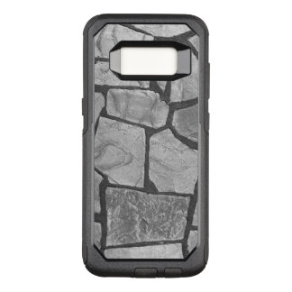 Decorative Grey Stone Paving Look OtterBox Commuter Samsung Galaxy S8 Case