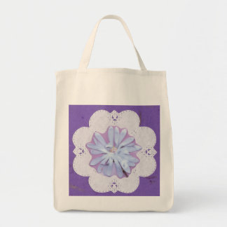 Decorative Grocery Tote Bag