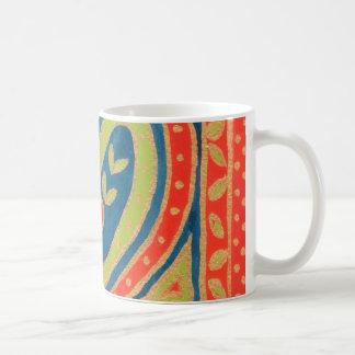Decorative 'Heart' Coffee Mug