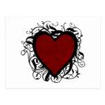 Decorative Heart Postcards