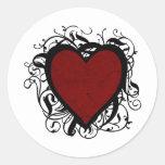 Decorative Heart Sticker