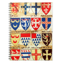 Decorative Heraldry Pattern Notebook