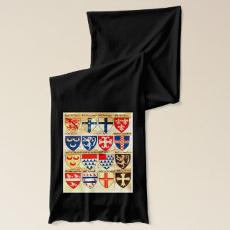 Decorative Heraldry Pattern Scarf