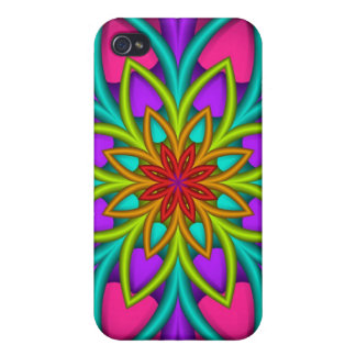 Decorative iPhone 4 speck case with Fantasy Flower iPhone 4/4S Cases