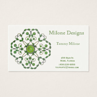 Decorative Ivy Business Card